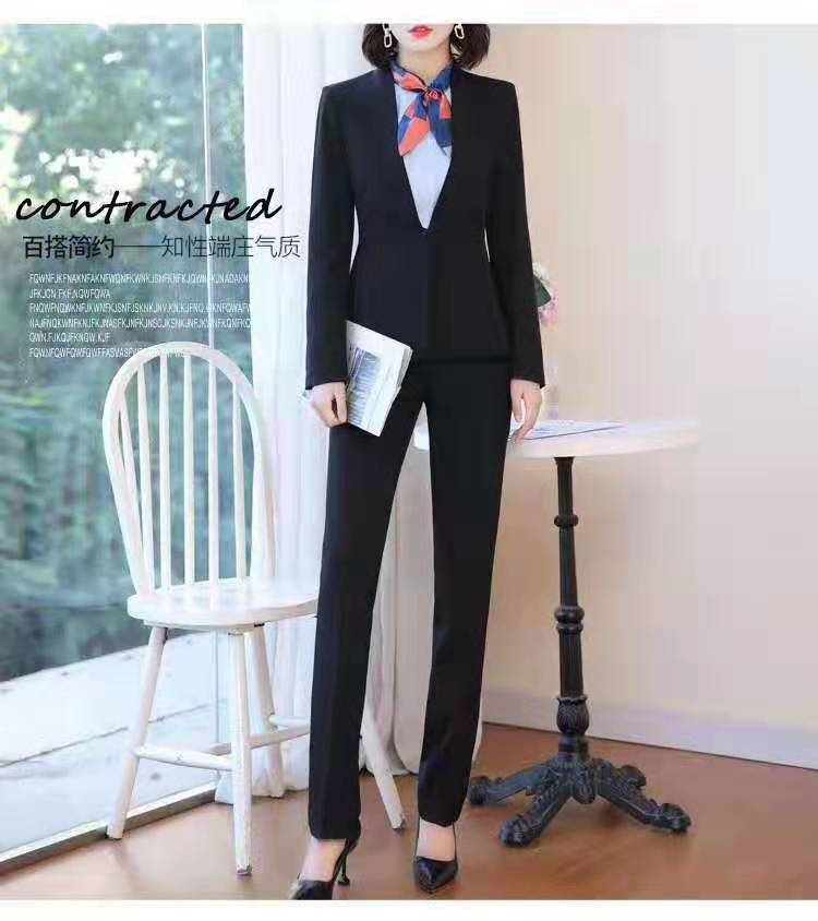 职业套装 女职业套装女套装职业装厂家