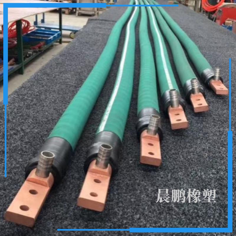 电炉专用绝缘无碳胶管 电炉水冷电缆输循环水用无碳胶管