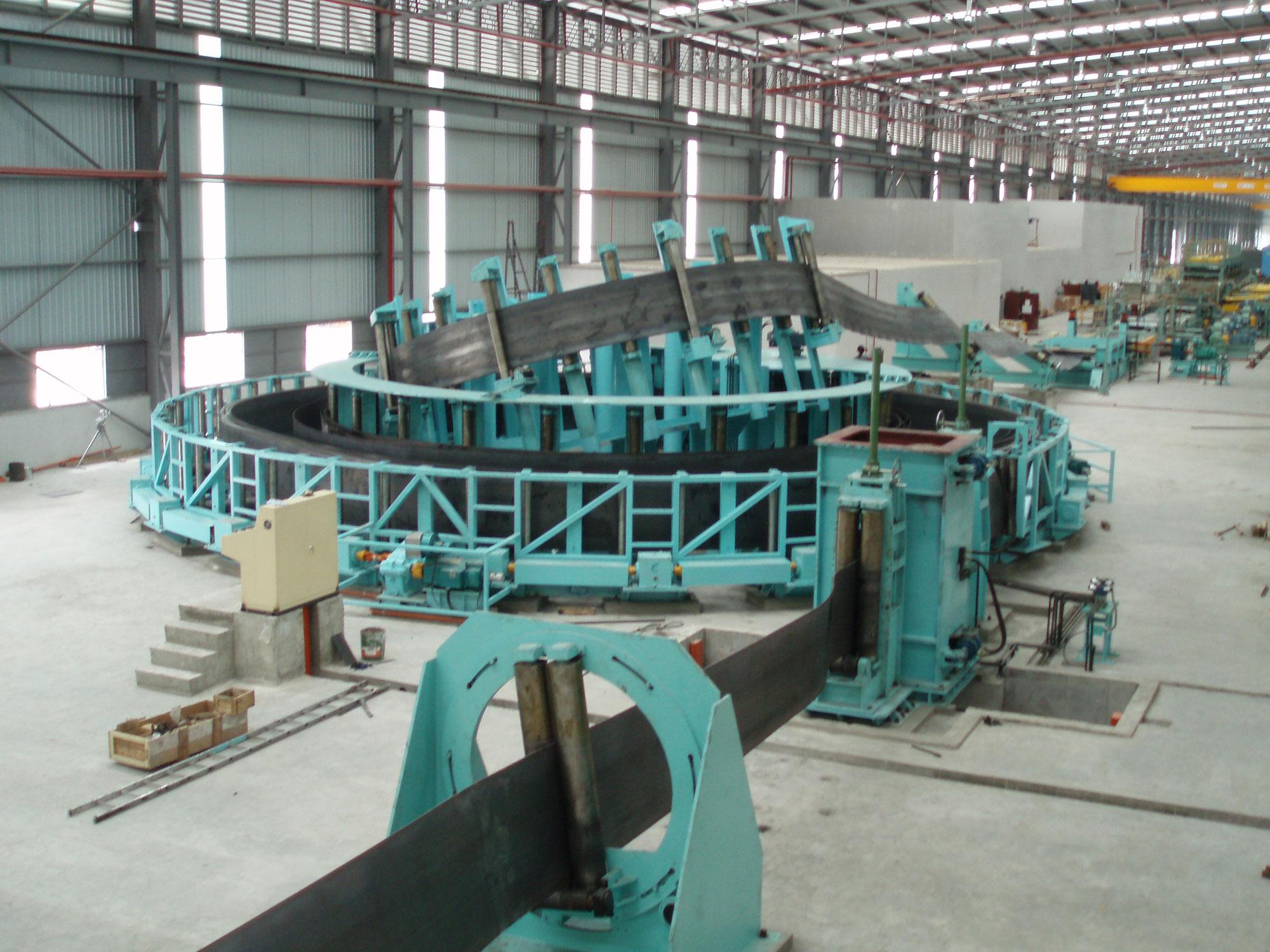 高频直缝焊管设备生产线