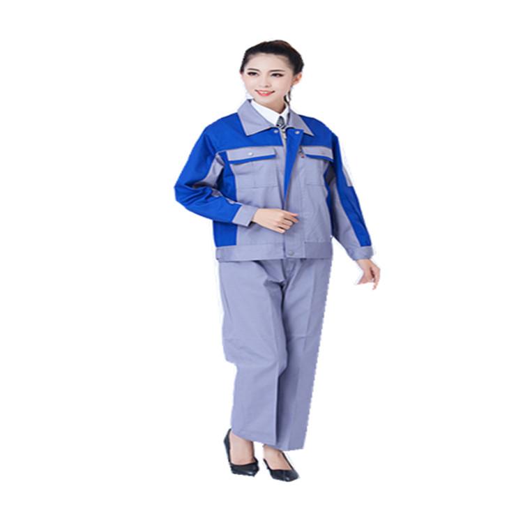 长袖工作服套装 劳保服工程服工装 劳保服批发