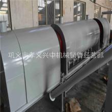 供应用于炭粉加工的连续式炭化机 椰壳炭化机 稻壳炭化炉设备 卧式炭化炉图片