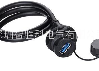USB防水连接器图片