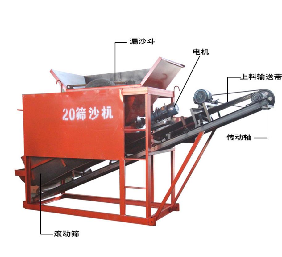 20型筛沙机价格/厂家定制