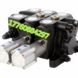 液压气控分配器运输车自卸液压阀QDL-L20E-2OQ多路换向阀 运输车自卸车液压多路阀