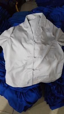 囚服夏装布扣男女包印字包邮厂家直销免费提供样衣包退包换 囚服夏装系列