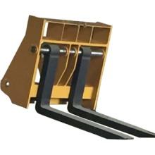 定制加长型锻打货叉 货叉套 装载机配件属具 货叉套批发