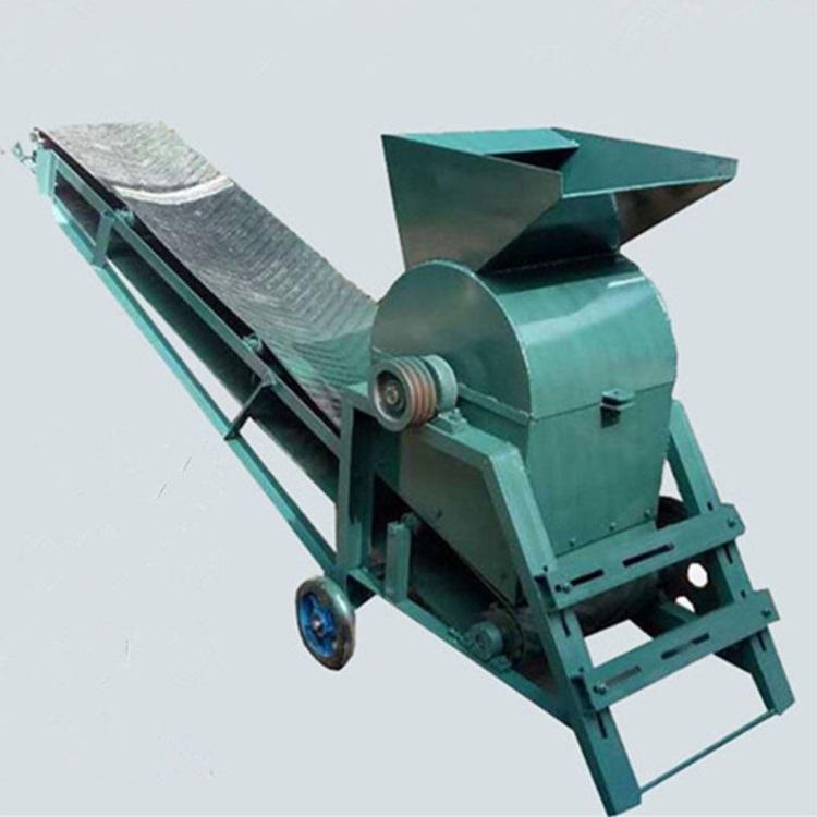 大中小型鸡粪移动式粉煤机碎土机商用育苗泥土粉碎机粉石土机破碎机