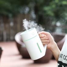 厂家直销2019创意1号水杯usb加湿器家用大容量空气定制logo批发