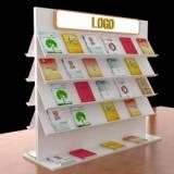 定制展架 展览器材 便捷展架制作 尺寸可定制 书架 展品架 展柜 展柱