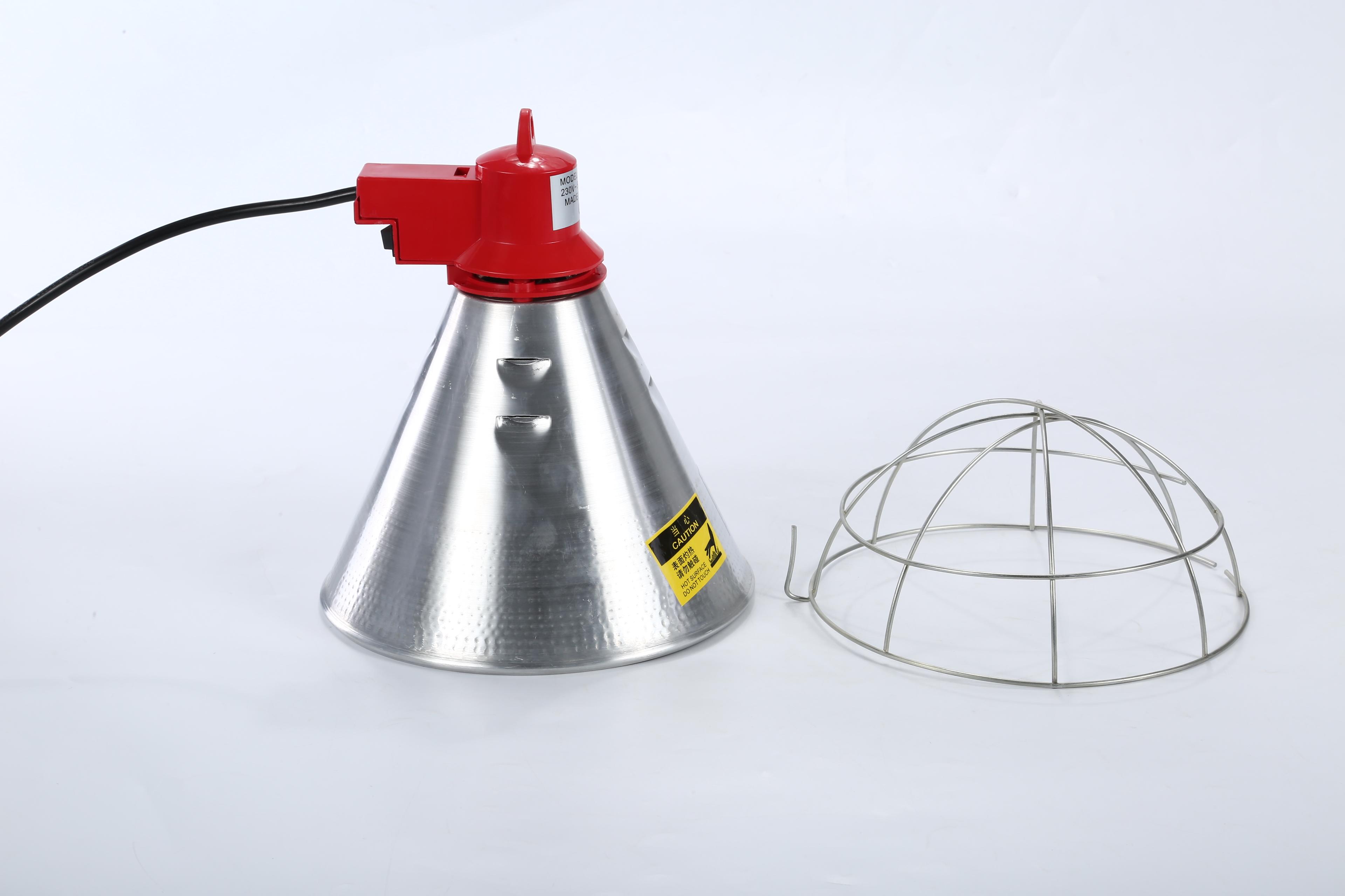 厂家直销 养殖保温灯罩SD-81001 养殖加温灯 红外线养殖保温灯罩 猪用养殖保温灯罩,加温灯罩