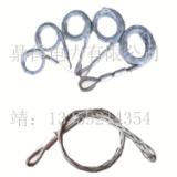 厂家直销 电力供应双侧拉电缆网套钢丝优质馈线中间网套绳单线牵引电缆保护 电缆网套