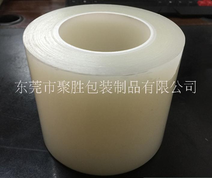 PE透明线缆保护膜 透明保护膜 缠绕包装膜 透明白色自粘膜生产厂家