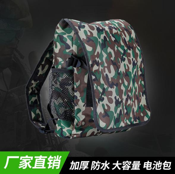 厂家直销 PVC双肩背包12V锂电池背包 迷彩锂电池背包可定制批发