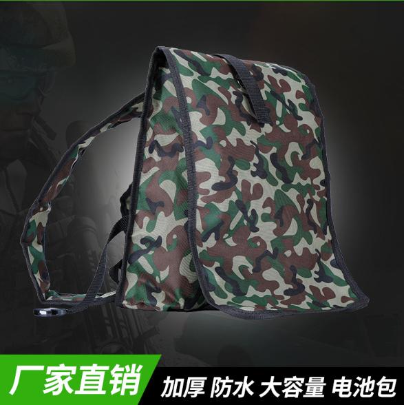 厂家直销 锂电池背包 户外迷彩12V防水600DPVC双肩背包定制背包