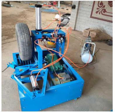 厂家直销废旧轮胎切割机_轮胎切割机价格_切割机批发厂家
