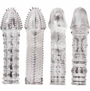 TPE情趣用品SEBS狼牙套料tpe0度水晶透厂家直销批发高品质热塑性弹性体生产 TPE情趣用品狼牙套料tpe0度