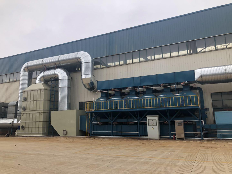 常州化工厂废气处理设备 碳纤维吸附浓缩冷凝回收再利用装置 可定做