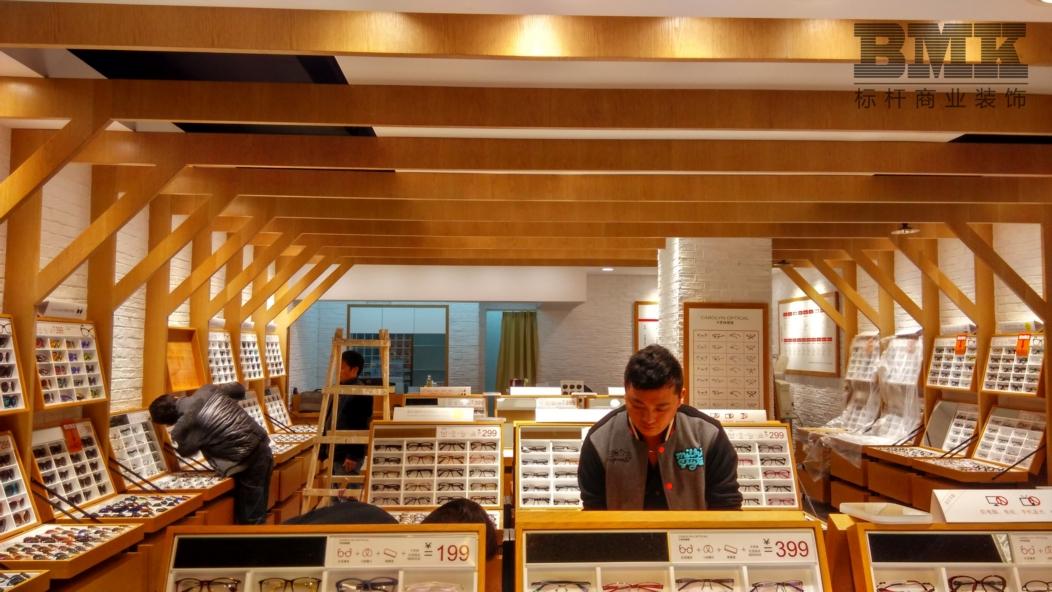 南京的潮流眼镜展柜柜台设计_南京的创意眼镜展柜柜台定制价格_南京标杆展柜公司