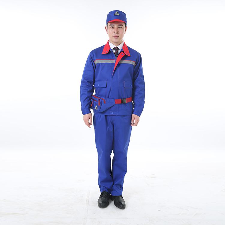 防静电工作服套装  工装定制 国家电网工作服套装男