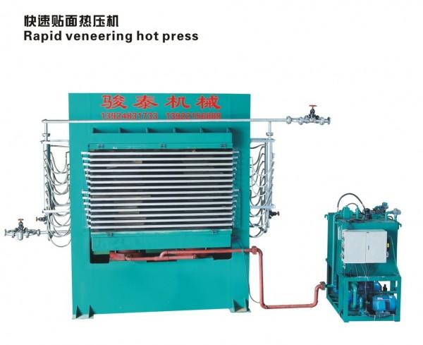 佛山快速贴面热压机厂家批发,佛山木板贴面热压机供货商,佛山木皮木门生态板多层热压机