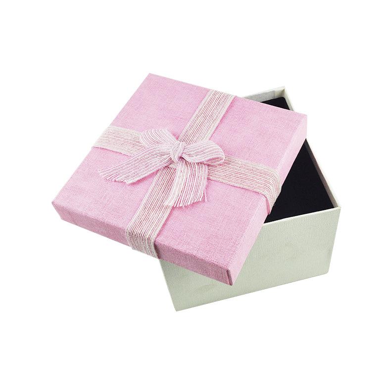 生日礼物 礼品盒 粉色礼品盒 方形礼盒 天地盖礼盒批发 粉色礼品盒天地盖礼盒批发