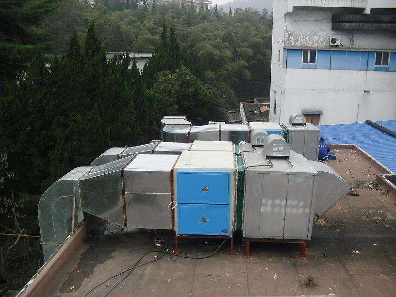 南京工业油烟废气处理 等离子工业油烟净化器  厂家加工非标定制油烟处理设备