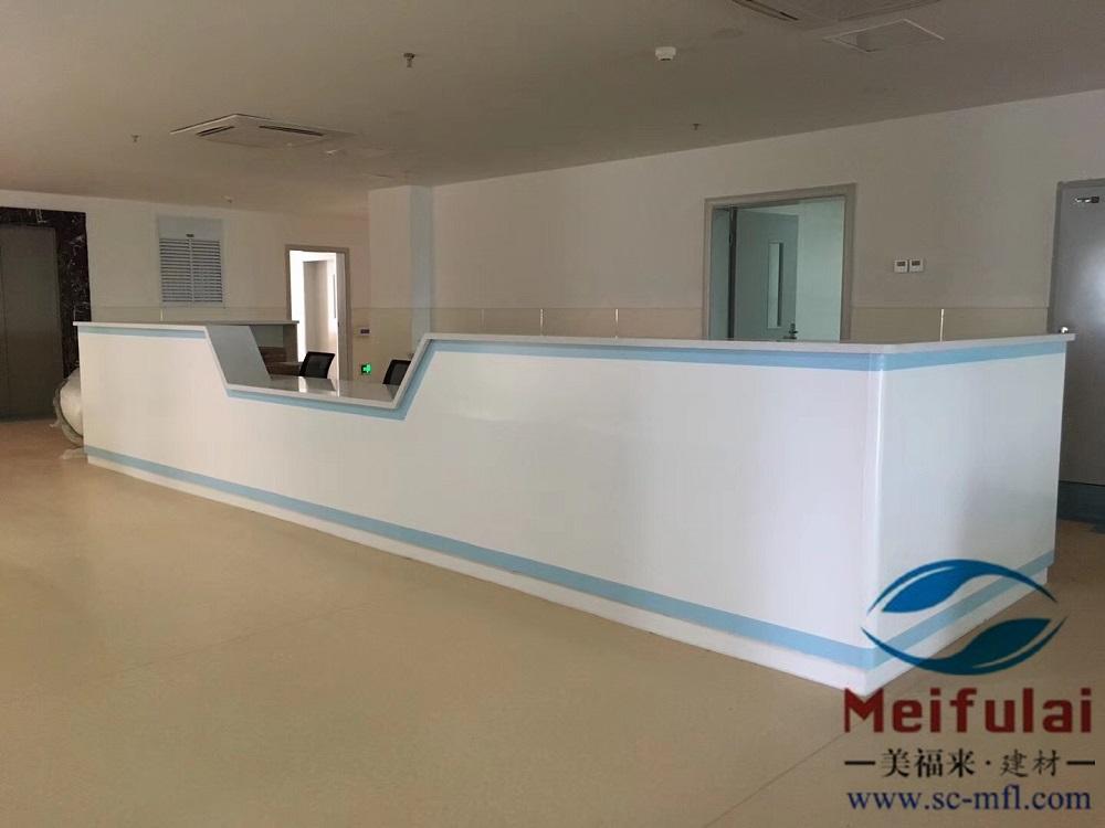 绵阳护士站、导医台设计、理化柜设计定制
