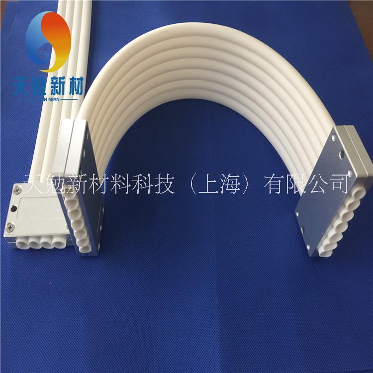 橡胶柔性拖链,自动化设备软拖链,排管拖链,7排管
