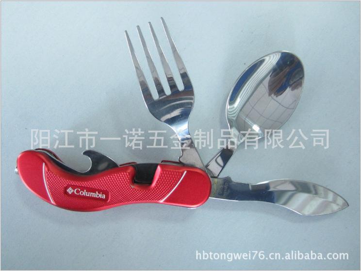 阳江市野营餐具折叠刀叉勺厂家-供应商-批发