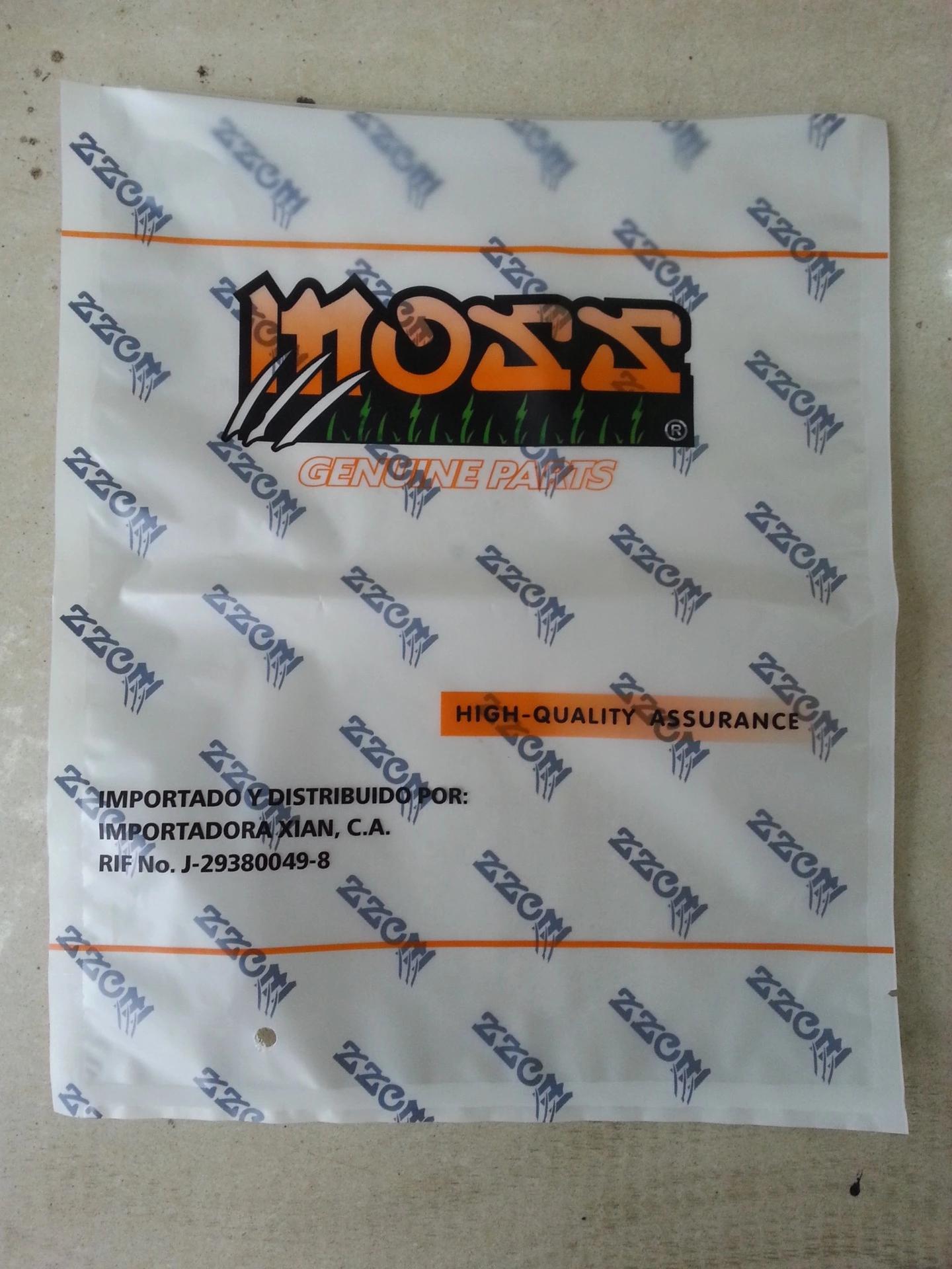 直销 摩托车配件小包装袋五金小配件包装袋加印LOGO