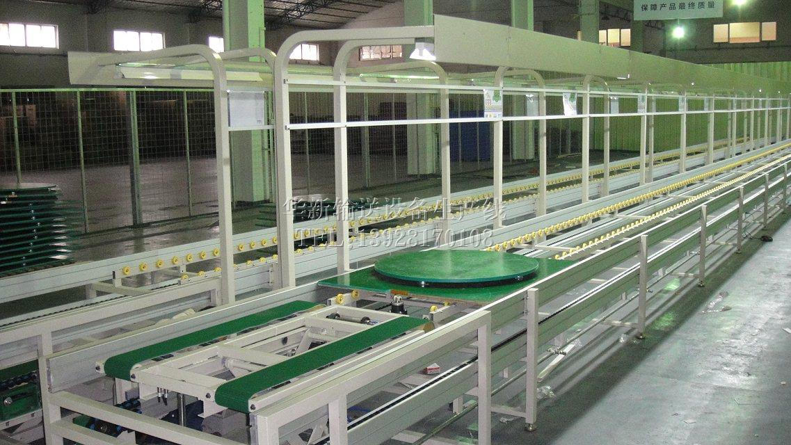 中山上下层半自动组装线价格-批发上下层倍速链气动式组装线-厂家