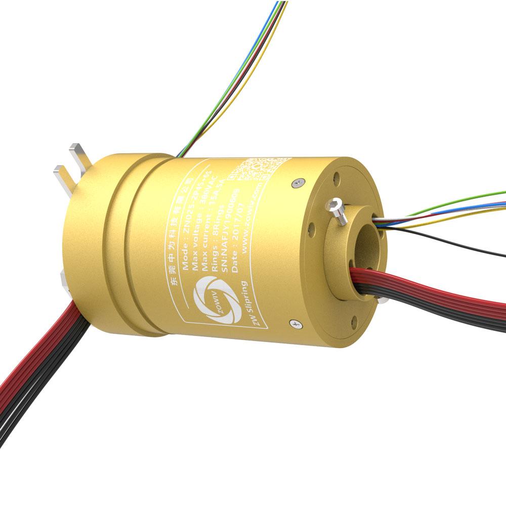 【三相电机滑环】380V电压三相电大功率大电流导电滑环生产厂家