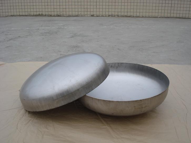 304不锈钢焊接封头 冲压焊接封头 工业管堵半圆形封头φ32-327 不锈钢封头
