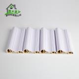 厂家直销生态木PVC框线 新型装饰材料室内装饰线条80框线
