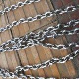 304不锈钢链条短环长环链条圆环加粗铁链子锁链条防盗工业吊起重
