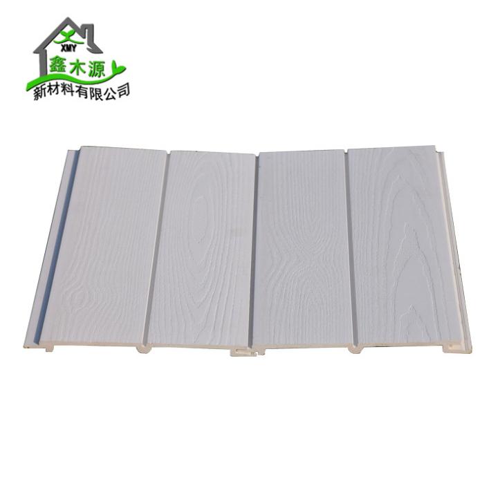 厂家直销生态木双75浮雕板 家装工装幼儿园墙裙板PVC木塑护墙板