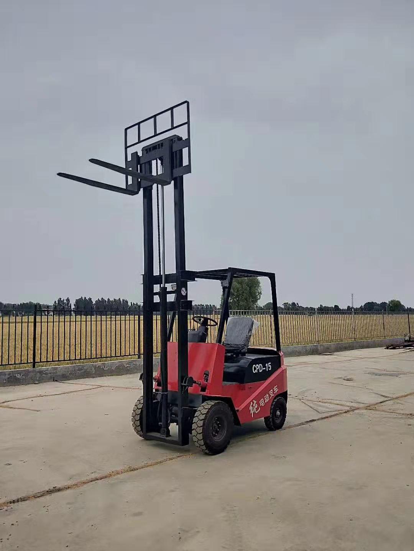 1.5吨环保电动叉车-纯电动装货车-前移式电动叉车-座驾式电动叉车