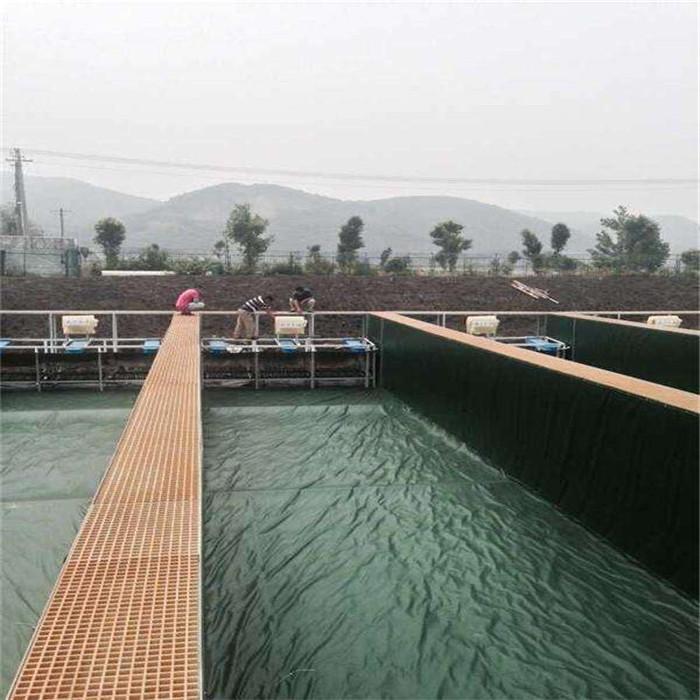 圆形-方形养殖水池设计定做-大型户外养殖池塘定做价格-帆布鱼池/虾池型号