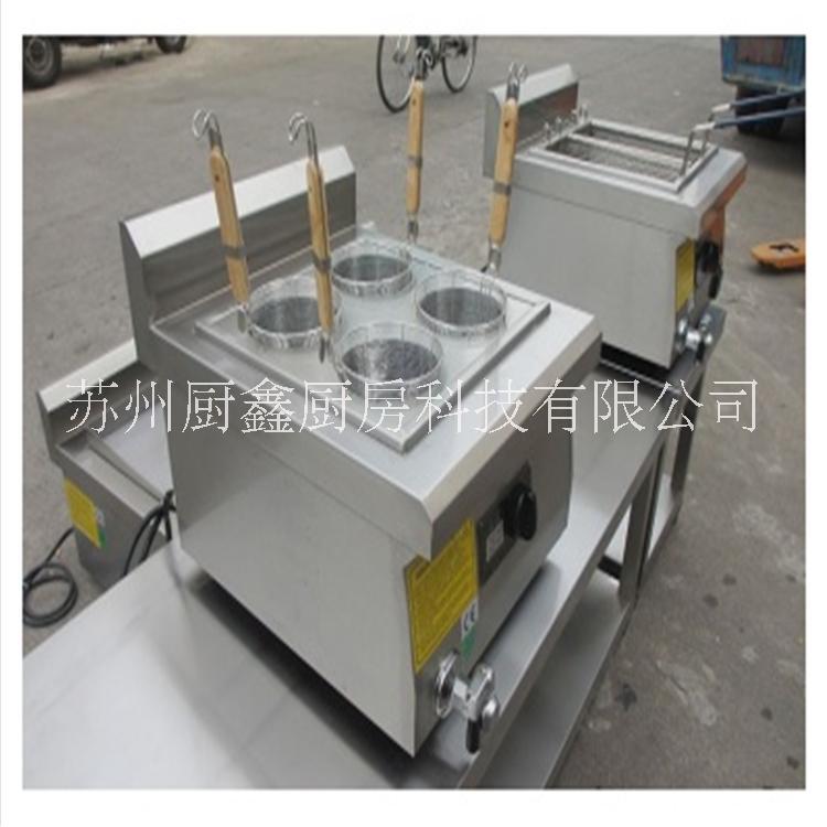苏州金厨鑫大功率电磁炉6孔煮面炉价格商用厨房用灶具厂家直销 煮面炉价格