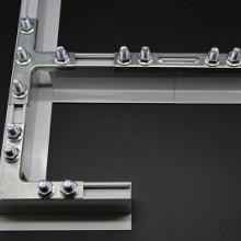 FFU吊顶吊梁连接件L字连接吊顶批发