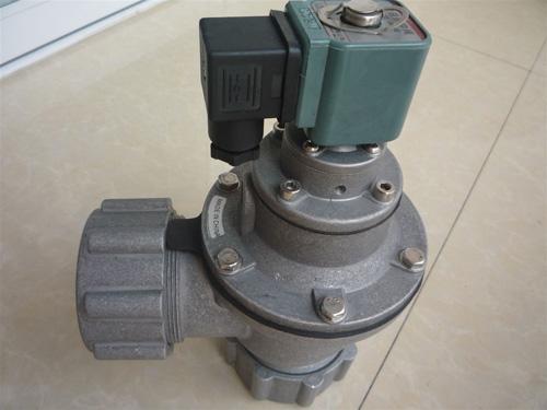 DMF-ZM直角带螺母式电磁脉冲阀厂家直销 可按需定制