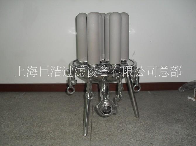 厂家直销不锈钢钛棒过滤器 滤芯式过滤器 耐高温烧结滤芯过滤机