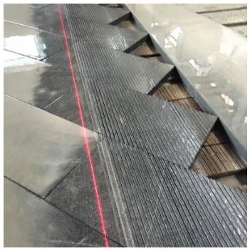 福建石材拉丝面工程板 泉州市黑色花岗岩厂家 G654拉丝板定制批发