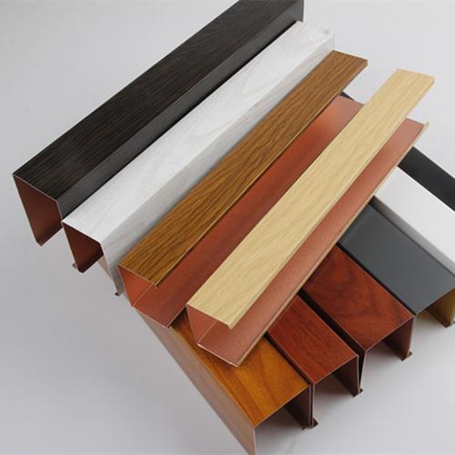 仿木纹铝方通供应商 铝方通厂家