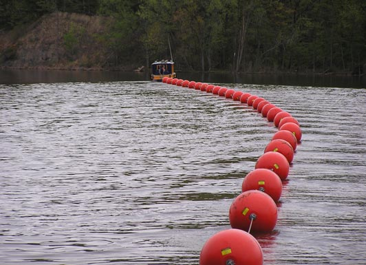天津PE塑料浮球浮桶厂家直销