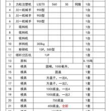 转让江西南昌工厂高速注塑机,联升210、280变量泵,力松270伺服机,机械手,模具、塑料原料、周边设备整厂设备低价出售