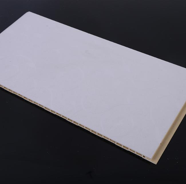 厂家直销 竹木纤维集成墙板新型装饰材料 室内护墙板防水防潮阻燃