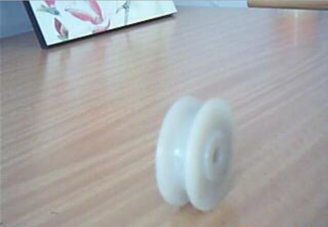 厂家生产白色尼龙滑轮 尼龙U型滑轮