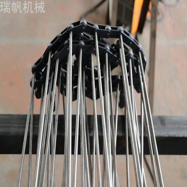 不锈钢链杆式网带 蔬菜水果蔬菜食品加工输送带支轴链清洗机网带