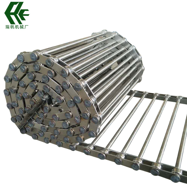 厂家热销不锈钢输送支轴链 工业机械用穿杆链食品脱水链杆式网带